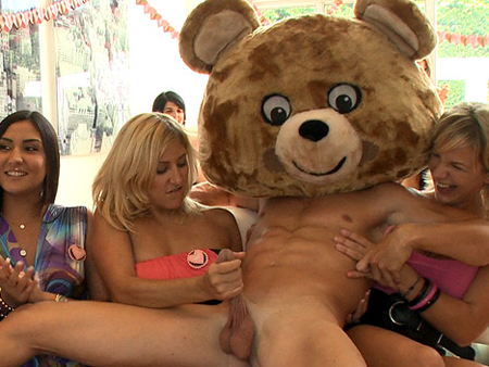 Dancing Bear Handjob